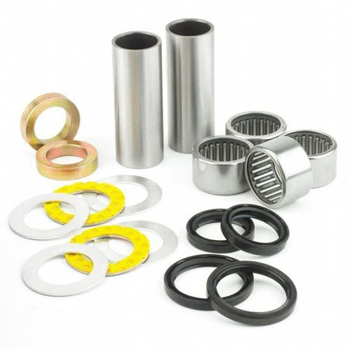 All Balls Swing Arm Bearing And Seal Kit Suzuki RM250 87 Swing Arm Bearing Kit - Grey