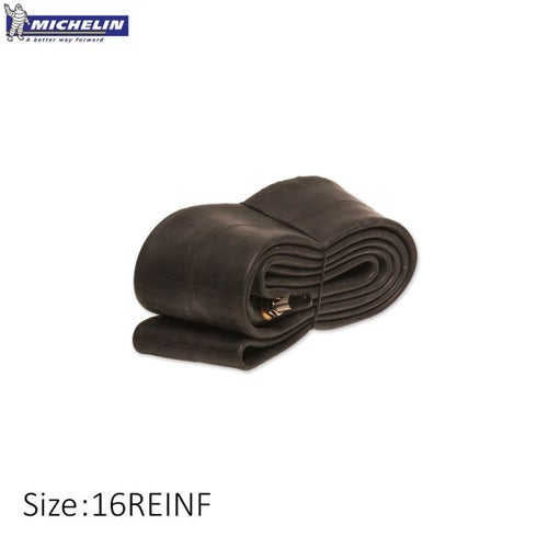 Michelin Heavy Duty Rear Inner Tube 90 100 , Inner Tube - Black