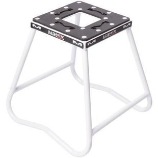 Box Stand Matrix C1 Carbon Steel Stand - White