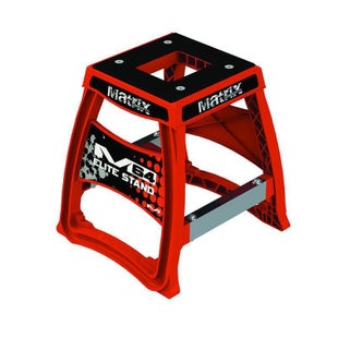 Box Stand Matrix M64 Elite Bike Stand - Red