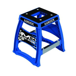 Matrix M64 Elite Bike Stand Box Stand - Blue