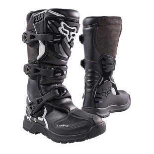 Fox Racing Comp 3 YOUTH Motocross Boots - Blk