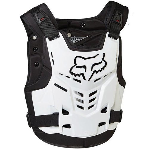 Fox Racing Proframe LC, CE Body Protection - Wht
