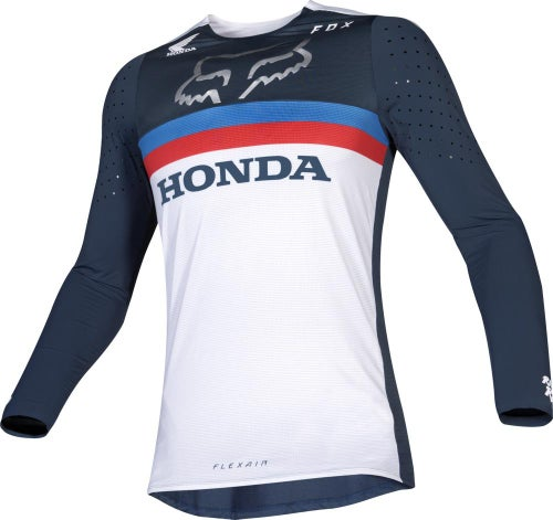 Fox Racing Flexair Honda Motocross Jerseys - Nvy