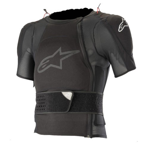 Alpinestars Sequence Protection Jacket - Short Sleeve Body Protection - Black
