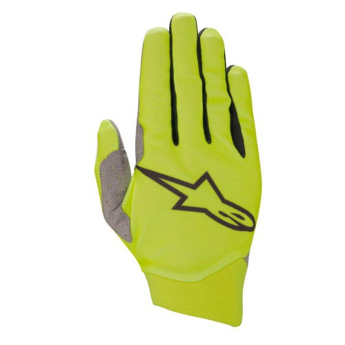 Alpinestars Dune Motocross Gloves - Yellow Fluo