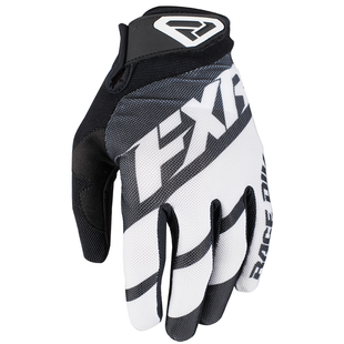 FXR Clutch Strap , MX Glove - Black/white