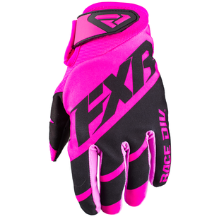 FXR Clutch Strap , MX Glove - Elec Pink/black