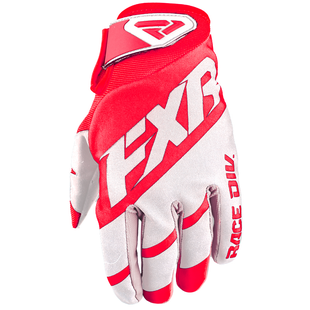 FXR Clutch Strap , MX Glove - Red/white