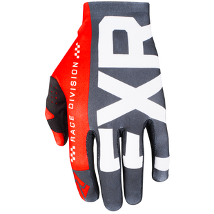 FXR Slip On Lite , MX Glove - Black/red/white