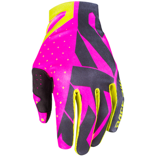 FXR Slip On Lite , MX Glove - Elec Pink/black/hi Vis