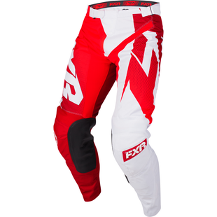 Spodnie MX FXR Clutch Podium - Maroon/red Fade/white