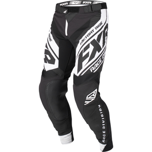 Spodnie MX FXR Revo - Black/white