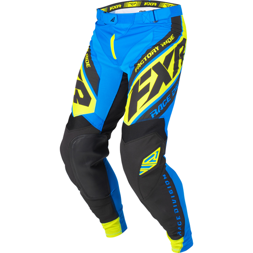 FXR Revo Motocross Pants - Blue/black/hivis