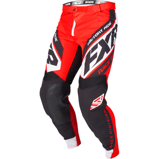 Spodnie MX FXR Revo - Red/black/white