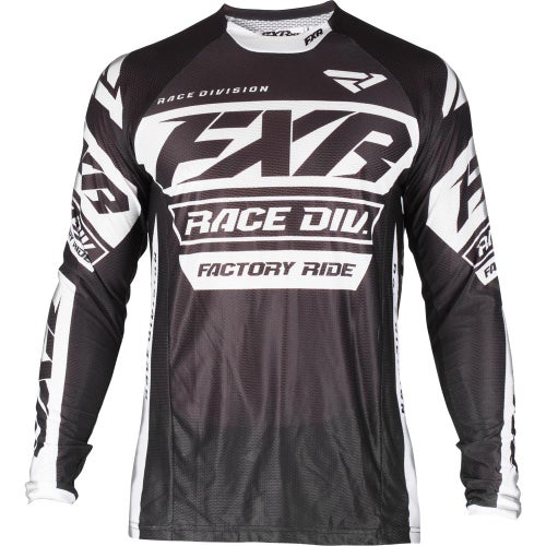 FXR Revo Motocross Jerseys - Black/white