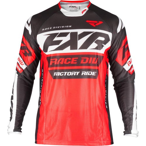 FXR Revo Motocross Jerseys - Red/black/white
