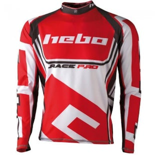 Hebo Shirt RacePro II Medium Trials Jersey - Red
