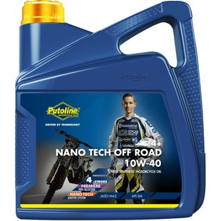 Engine Oil Putoline Nano Tech Or 4+ 10w/40 4 Ltr - Clear