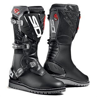 Sidi Trials Zero Trials Boots - Black