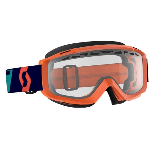 Scott Sports Split OTG Enduro Motocross Goggles - Clear Lens