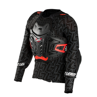 Leatt YOUTH 45 MX Motocross and Enduro Body Protector Torso Protection - Black