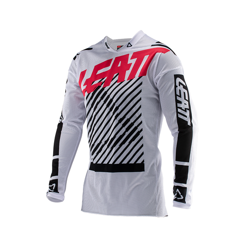 Koszulka MX Leatt GPX 4.5 XFlow Enduro and - White