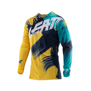 Leatt GPX 4.5 Lite Enduro and Motocross Jerseys - Gold Teal