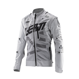 Leatt GPX 4.5 XFlow Trail Riding and Enduro Jersey - Steel