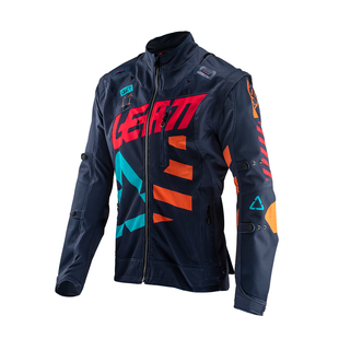 Leatt GPX 4.5 XFlow Trail Riding and Enduro Jersey - Ink Orange