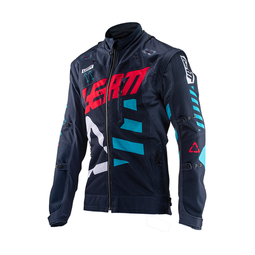 Leatt GPX 4.5 XFlow Trail Riding and Enduro Jersey - Ink Blue