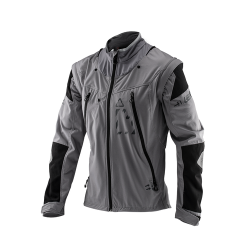 Enduro Jacket Leatt GPX 4.5 Lite Trail Riding and - Steel