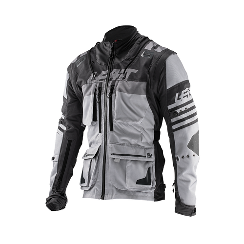 Leatt GPX 5.5 Trail Riding and Enduro Jacket - Steel