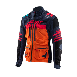 Leatt GPX 5.5 Trail Riding and Enduro Jacket - Ink Orange