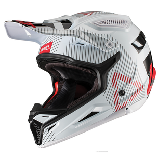 Leatt GPX 4.5 V192 Enduro and Motocross Helmet - White
