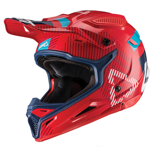 Leatt GPX 4.5 V192 Enduro and Motocross Helmet - Red Ink