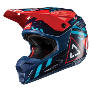 Leatt GPX 5.5 V191 Enduro and Motocross Helmet - Ink Blue