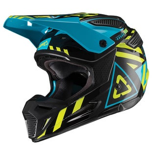 Leatt GPX 55 V191 MX Motocross and Enduro Helmet Motocross Helmet - Black Lime