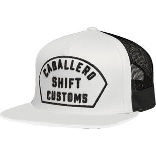 Shift Caballero X Lab Snapback Cap - White