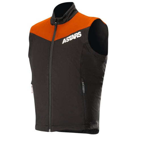 Alpinestars Session Race Vest Enduro Jacket - Flo Orange Black