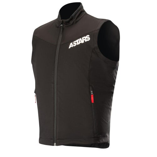 Alpinestars Session Race Vest Enduro Jacket - Black Red