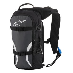Alpinestars Iguana MX Motocross and Enduro Back Pack Hydration Backpack - Black Anthracite White
