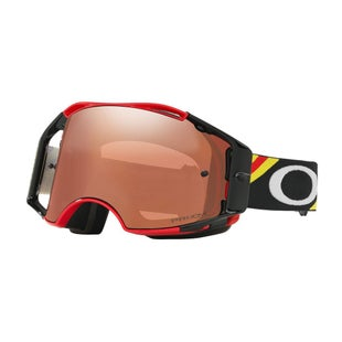 Oakley Airbrake MX Heritage RacerBright Red Motocross Goggles - Prizm Mx Black Iridium