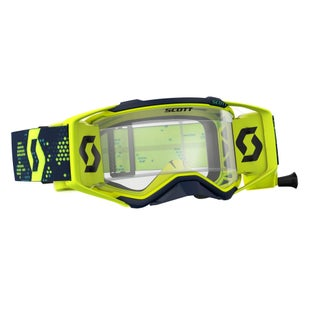 Scott Sports Prospect Works Roll Off Motocross Goggles - Yellow