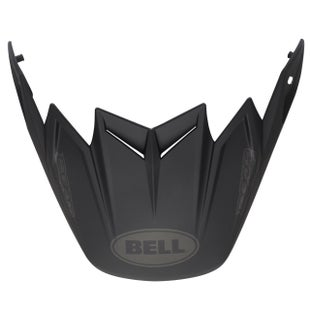 Bell Replacement Moto 9 Flex Peak Syndrome Matte Black Helmet Peak - eplacement Moto 9 Flex Peak (Syndrome Matte Black)