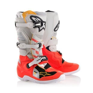 Alpinestars YOUTH Tech 7S LE MX Boots Boys Motocross Boots - Gator