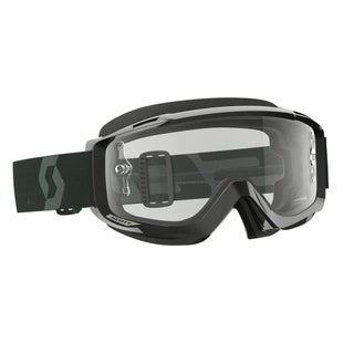 Scott Sports Split OTG Goggles Black Motocross Goggles - Clear Lens