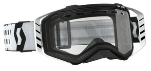 Scott Sports Prospect Enduro Vented Lens Motocross Goggles - Black White