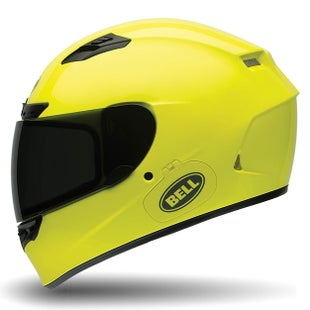 Bell Qualifier DLXHelmet Solid Gloss Hi Road Helmet - Vis Yellow