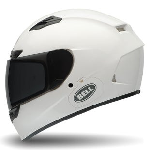 Bell Qualifier DLX Road Helmet - Solid Gloss White